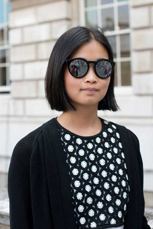 Straight Bob Cut Hairstyle