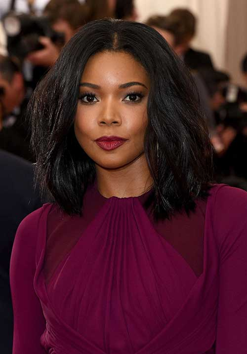 Thick Wavy Bob Hairstyles for Black Women