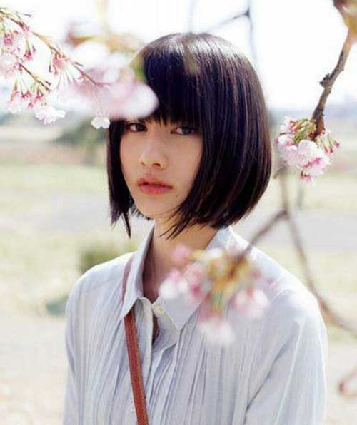 Best Trendy Bob Haircut Asian Style