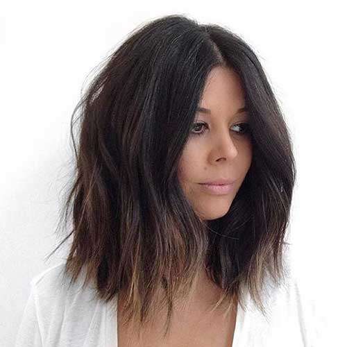 Trendy Dark Ombre Bob Hairstyles