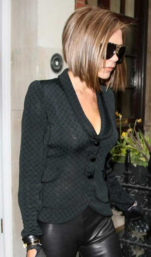 Best Victoria Beckham Hair Back View