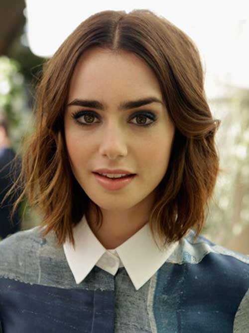 Wavy Short Bob Haircut