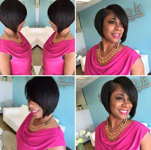 Bob Hairstyles for Black Women-12
