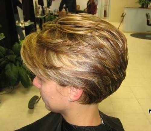 Short Layered Bob Haircuts For Older Women 13