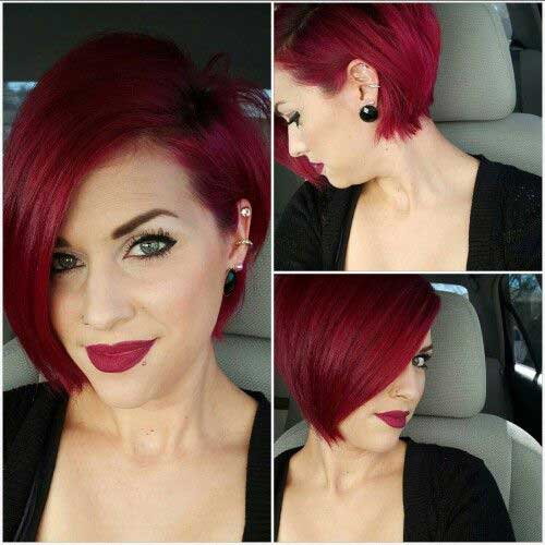 Red Bob Hairstyles-11