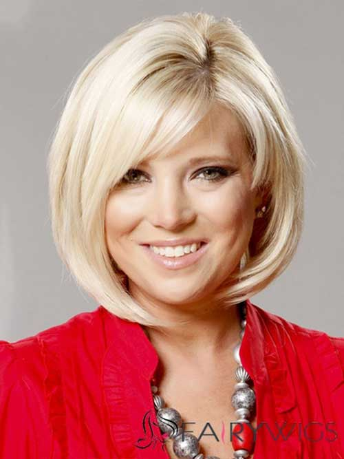 Bobs Hairstyles for Round Faces-12