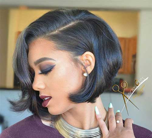 Black Women Short Bobs-13