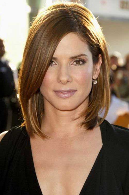 Bobs Hairstyles for Round Faces-13