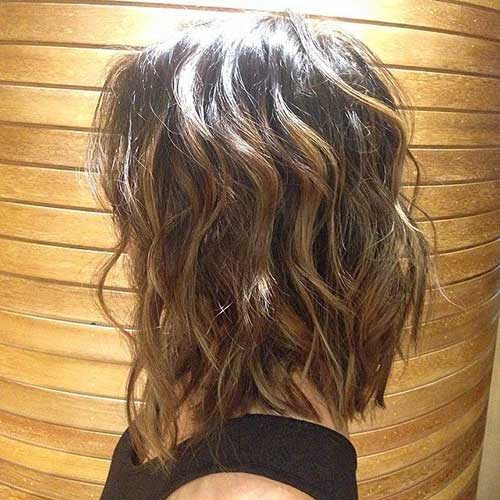 Brunette Bob Hairstyles 2015-14