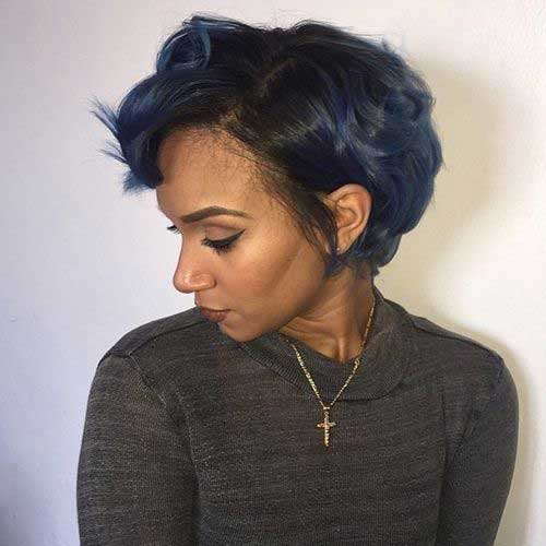 Black Women Short Bobs-15