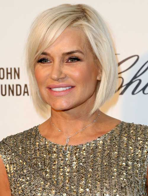 Bob Haircuts for Older Women-15