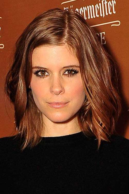Bobs Hairstyles for Round Faces-15