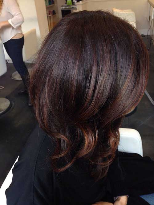 Dark Brown Bob Hair-16