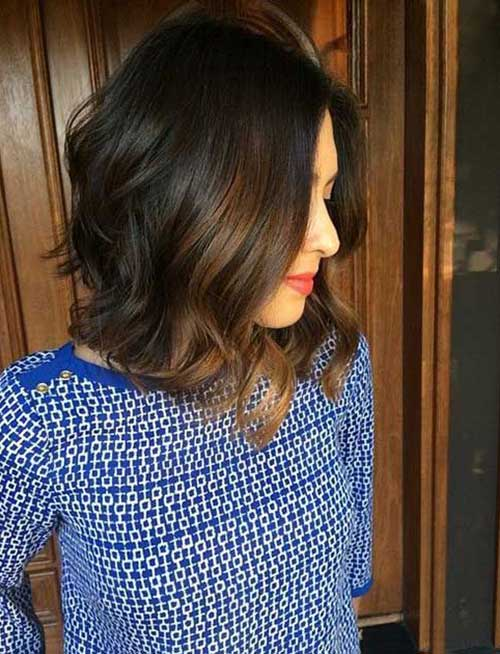 Long Bob Brown Hair-16