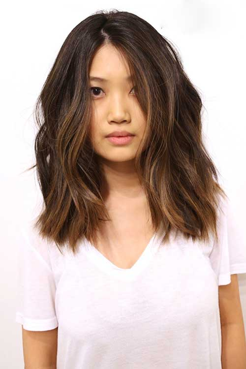 Long Bob Brown Hair-17