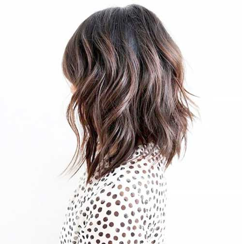 Long Bob Brown Hair-18