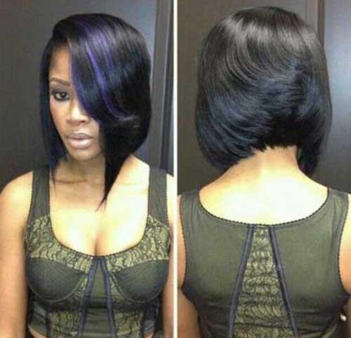 Black Women Bob Haircuts 2016-19