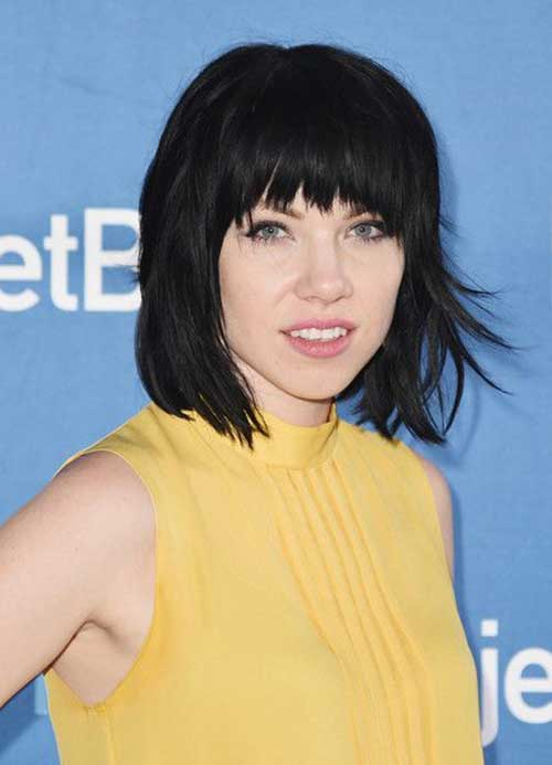 Bob Hairstyles With Bangs 2016-19