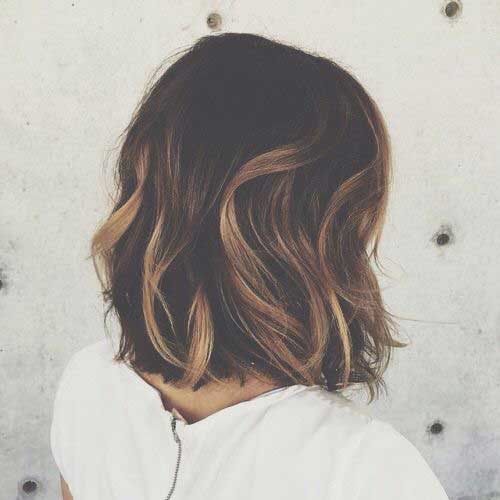 Long Bob Brown Hair-20