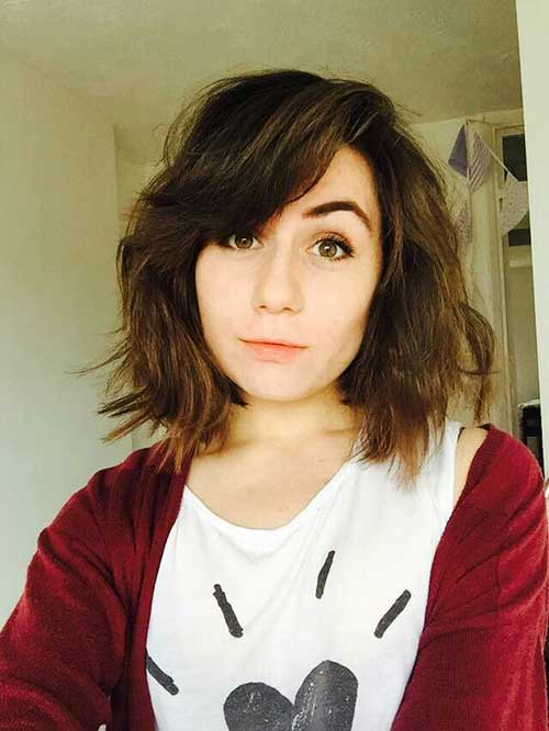2015 Bob Haircuts With Bangs