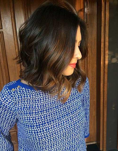 Brunette Bob Hairstyles 2015-21