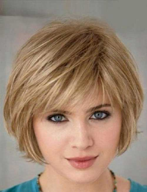 Bobs Hairstyles for Round Faces-7