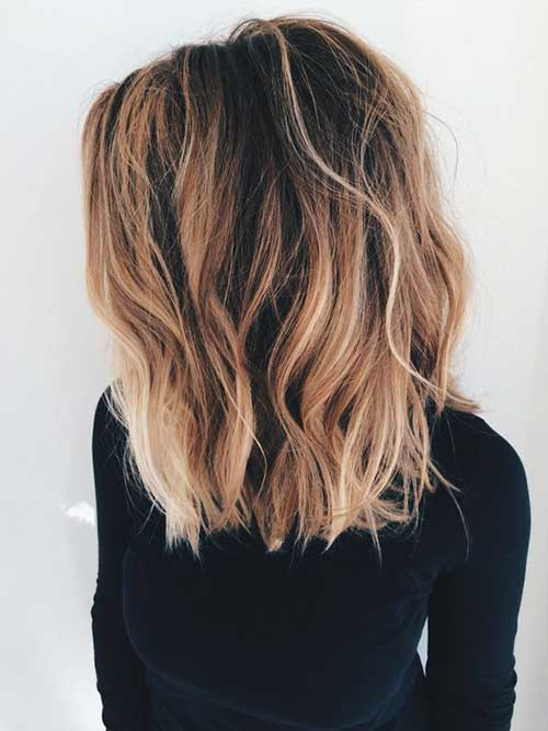 Long Bob Hair Styles-7