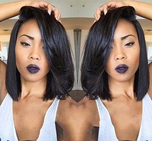 Black Women with Bob Haircuts