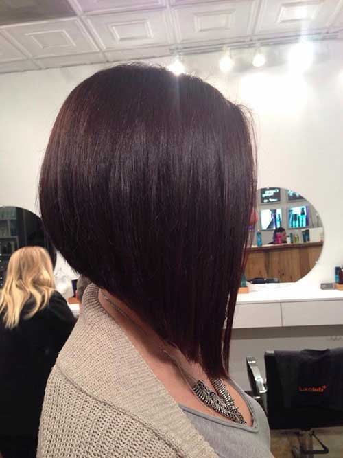 Brunette Bob Haircut