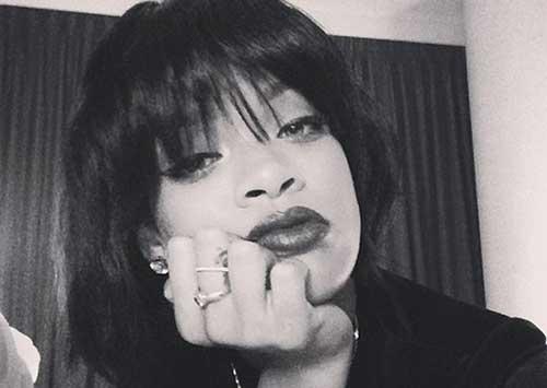 Rihanna Hair Bob