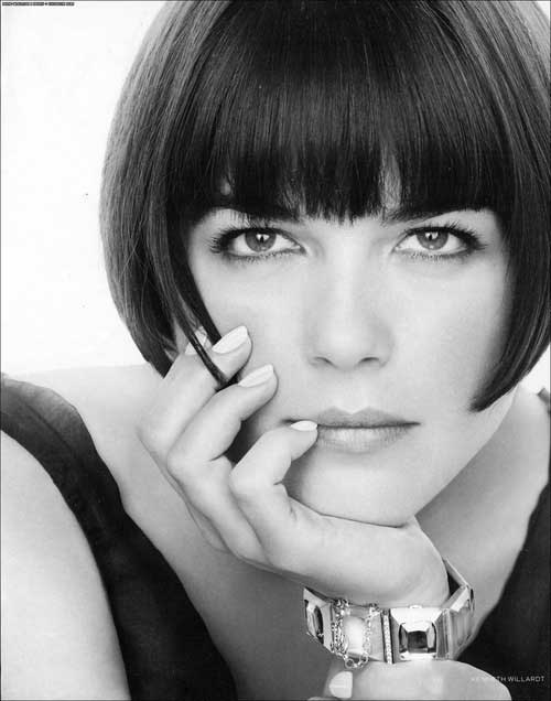 Short Bob Hairstyles With Bangs-10