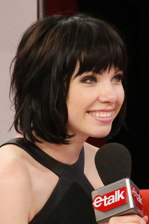 Short Layered Bob Haircuts-10