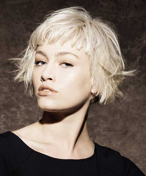 Short Bob Hairstyles With Bangs-11