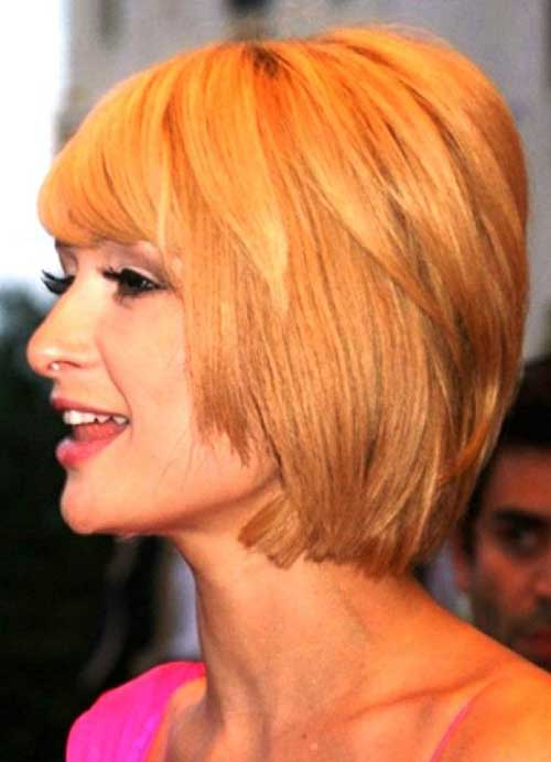 Short Layered Bob Haircuts-12