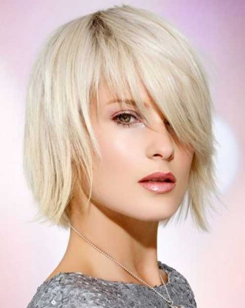 Short Layered Bob Haircuts-13