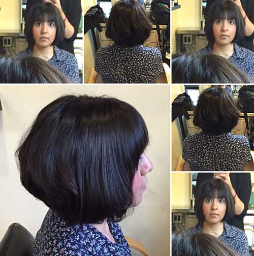 Graduated Bob with Bangs-14