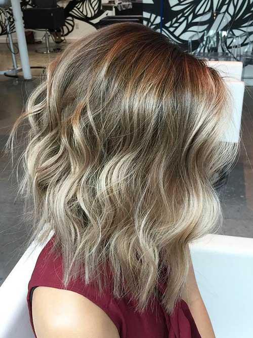 Balayage Bob Hair-16
