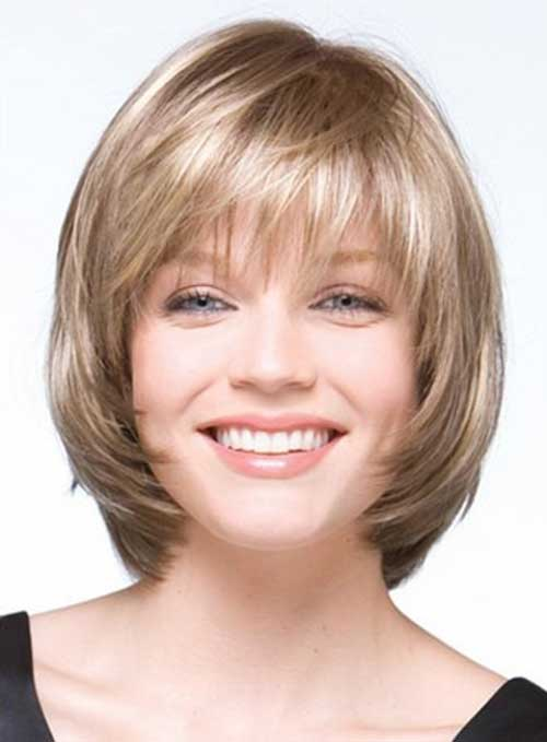 Bob Haircuts for Round Faces-17