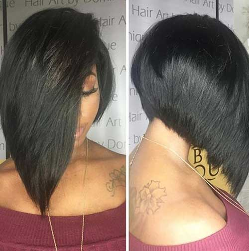 Short Layered Bob Haircuts-17