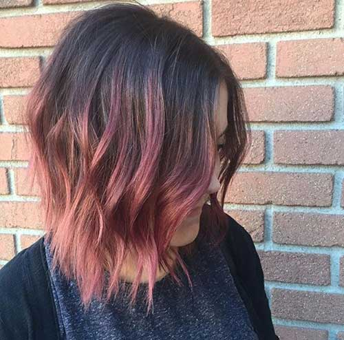 20 Long Bob Ombre Hair Bob Haircut And Hairstyle Ideas