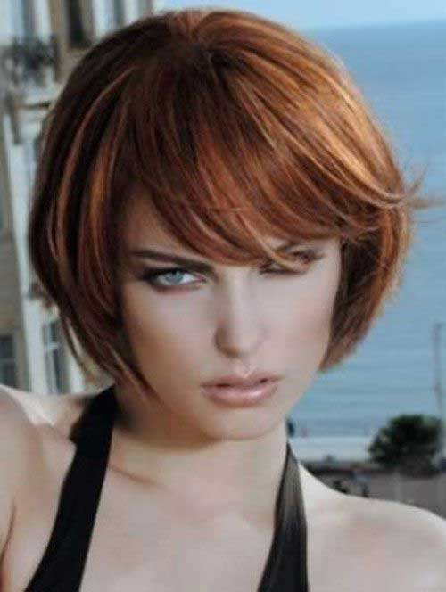Short Bob Hairstyles With Bangs-23
