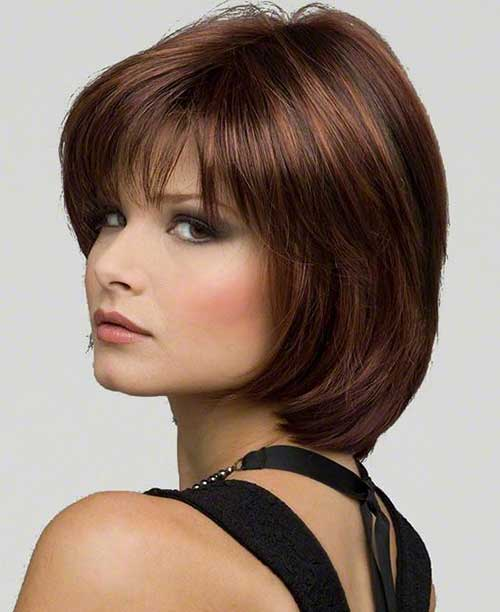 Bob Haircuts for Round Faces-25