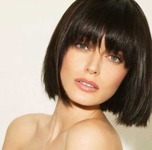Short Bob Hairstyles With Bangs-30