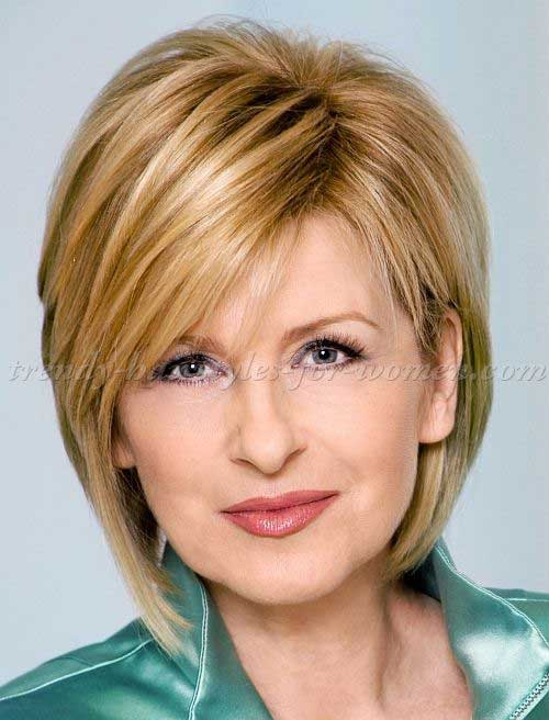 Bob Haircuts for Women Over 50-8