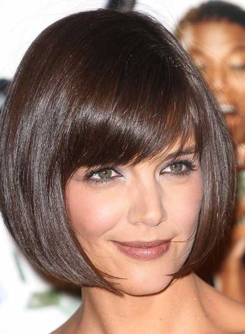 Short Bob Hairstyles With Bangs-9