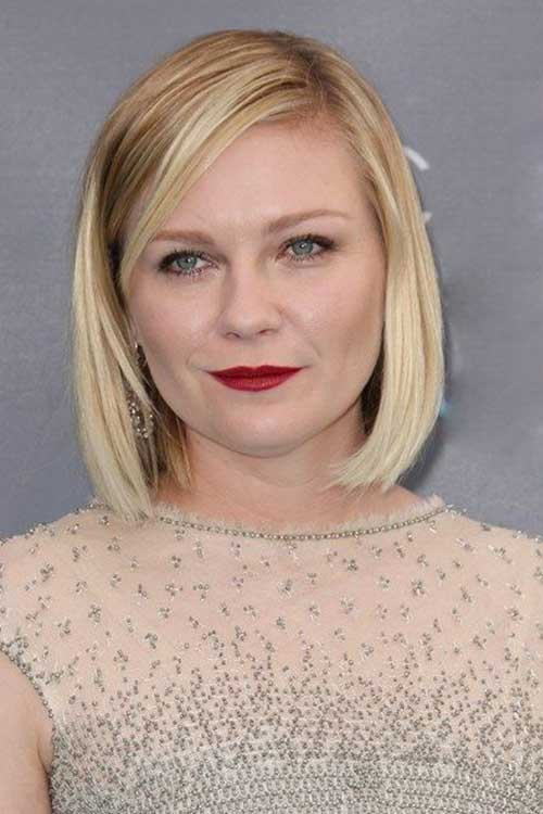 Bob Cut Hairstyles for Round Faces