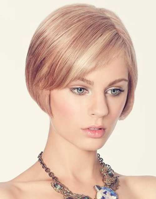 Bob Hairstyles for Oval Face