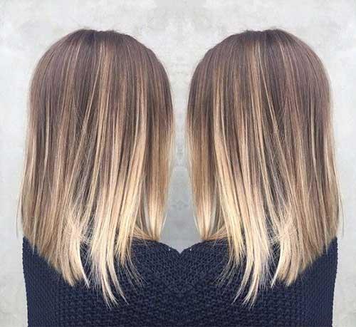 Ombre Bob Haircuts