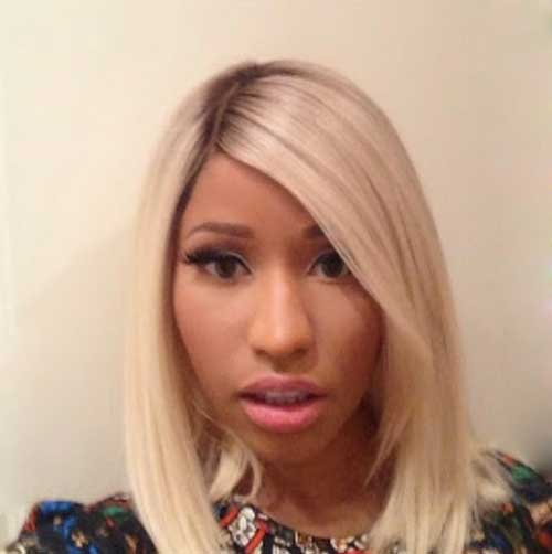 Nicki Minaj Blonde Bob-11