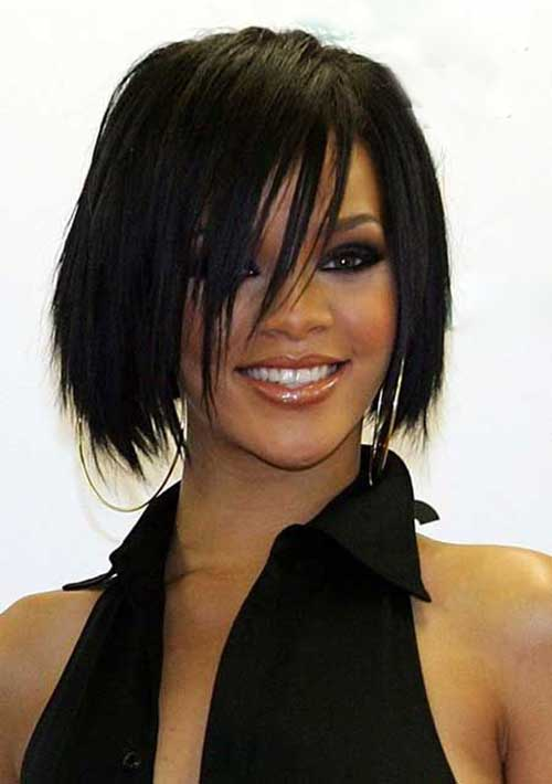 Rihanna Bob Haircut-12
